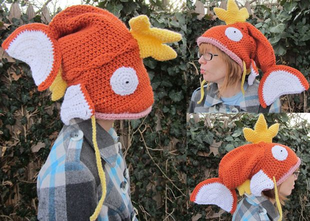 This Pokemon Magikarp hat will make your brain splash! photo