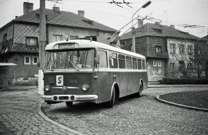 Jégého ulica - konečná trolejbusov