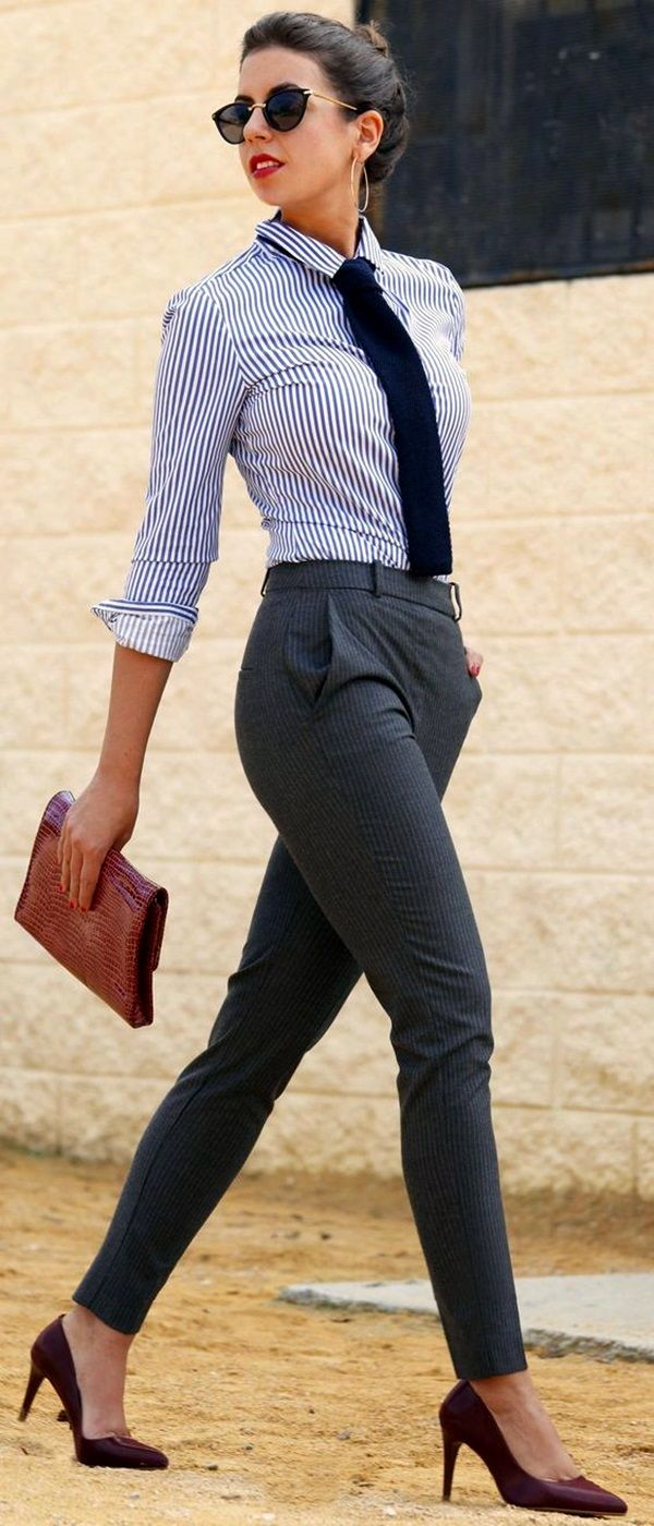 45 Non-Boring Work Outfits To Wear This Fall | Fall Work Outfits | Cute Fall Outfits | Work Outfits for Fall | Fenzyme.com