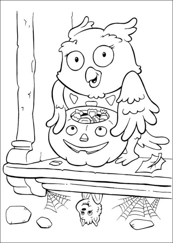 174 best Halloween color page images on Pinterest Coloring pages - best of halloween coloring pages 3rd grade