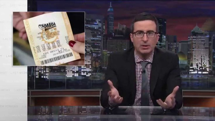 Host John Oliver explored the reality of state lotteries during the latest episode of Last Week Tonight with John Oliver. Specifically, Oliver focused on the fact that, despite claims to the contra...