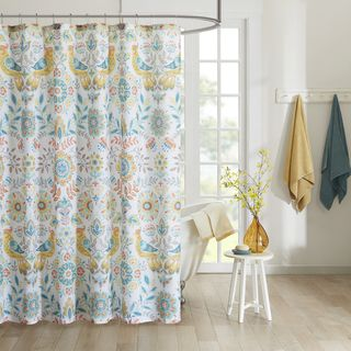 Shop for Intelligent Design Mona Printed Shower Curtain. Free Shipping on orders over $45 at Overstock.com - Your Online Bath