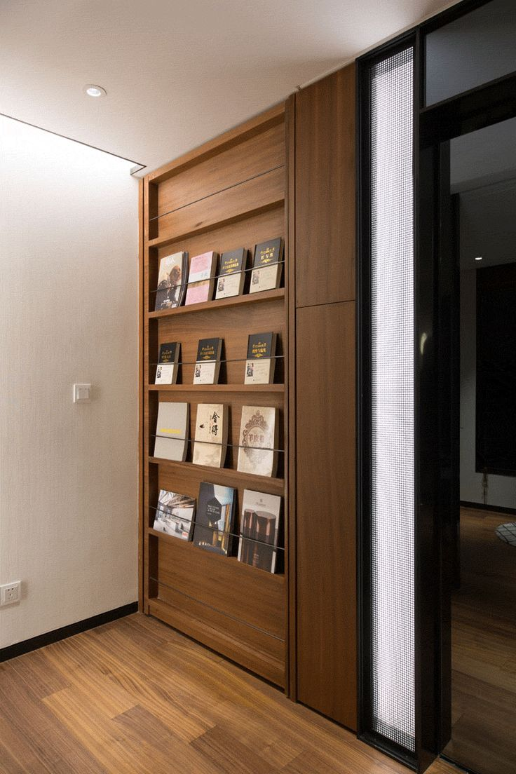This Door Disguised As A Shallow Bookshelf Leads To A Secret Bedroom   CONTEMPORIST