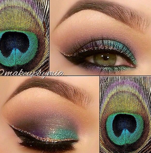 Peacock style!