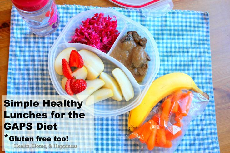 Packing Simple Homemade Lunches for Children on the GAPS Diet