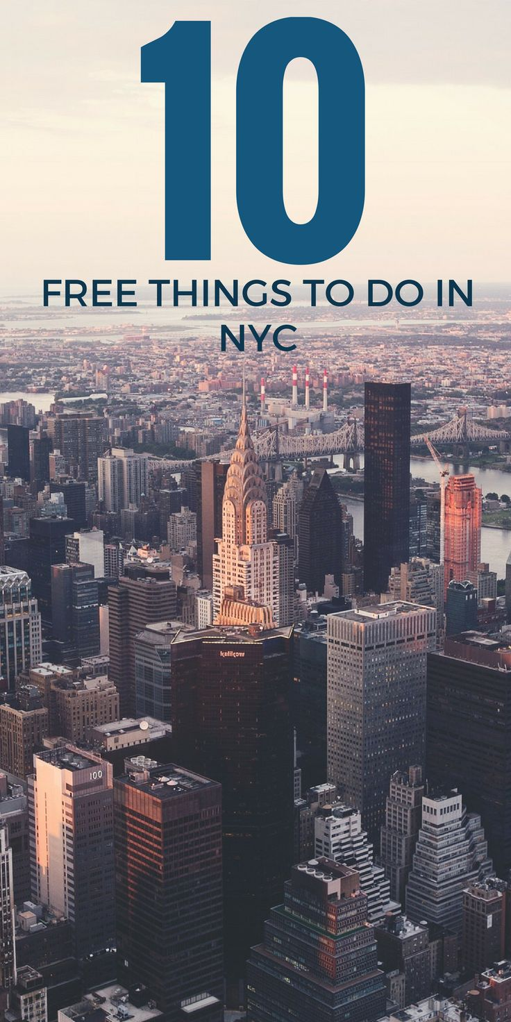 Seeing a vast majority of the major attractions in New York City can mean spending a large amount of your budget on tickets. However, there's something for everyone in this magnificently beautiful city that doesn't …