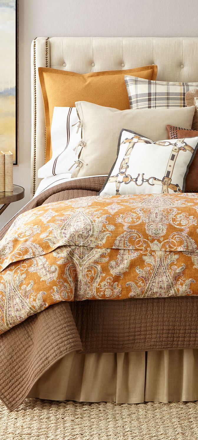 Rustic Fall Bedding