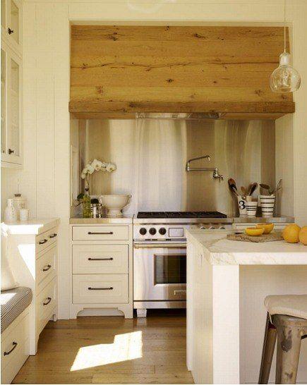 Farmhouse Range Hood ~ Family farmhouse kitchen to die for range hood