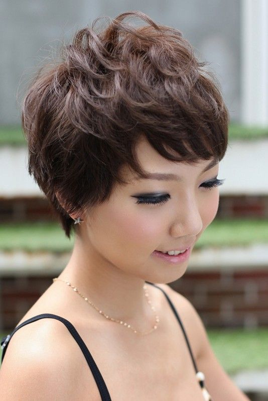 Pretty Pin Curl Pixie Cut Pixie Haircut Pixies And