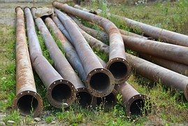 Pipes, Metal, Stainless, Rivet