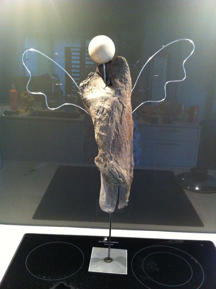 Treibholz-Engel klein