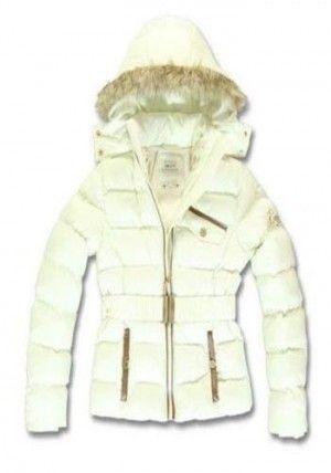 Emoi meisjes winterjas creme - Kinderkleding outlet -winterjassen