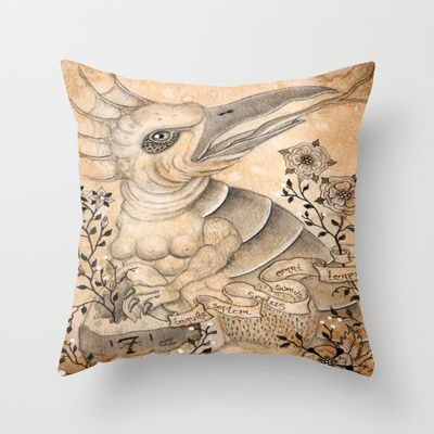 Materia III Throw Pillow by Linsay Blondeau  - $20.00