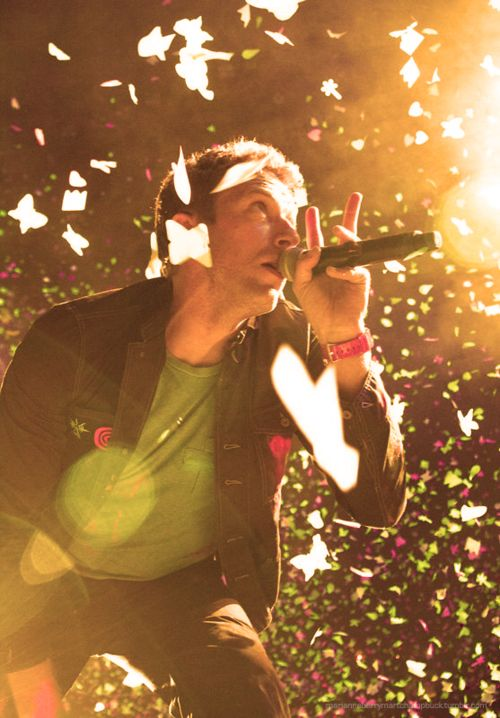 this is Chris Martin the lead singer of Coldplay, i chose the picture because it follows the rule of thirds