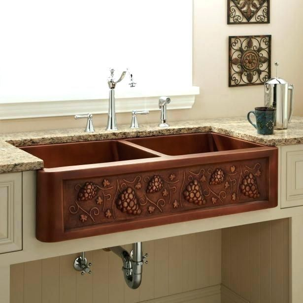 Prime Copper Farmhouse Kitchen Sink Copper Farmhouse Sink Medium Interior Design Ideas Inesswwsoteloinfo