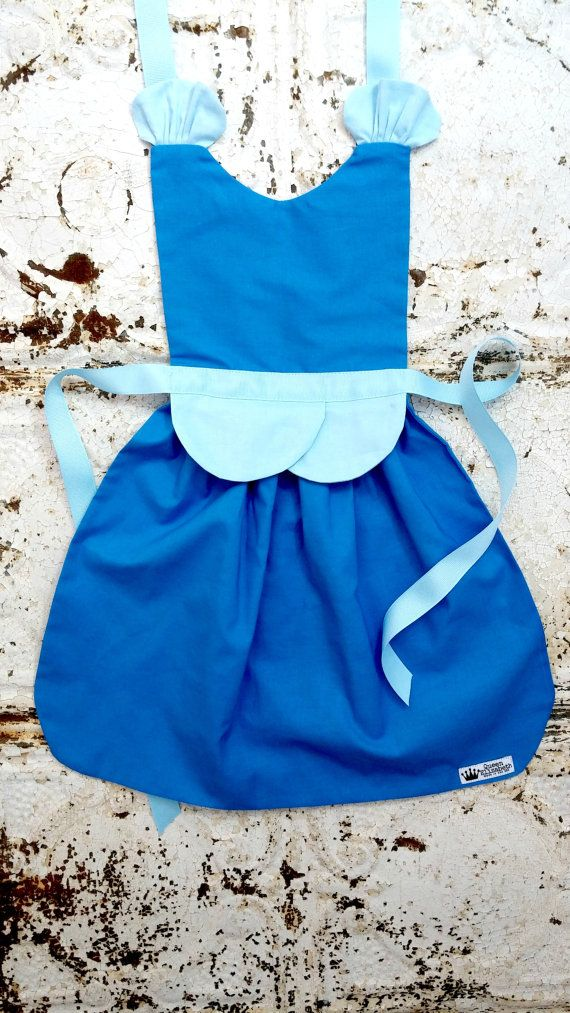 CINDERELLA Disney Princess inspired Child Costume Apron PDF Sewing PATTERN…