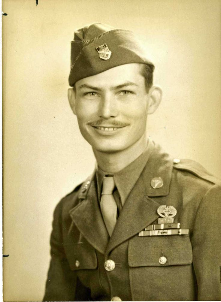 Desmond T. Doss - non-combatant who rescued 75 men, one at a time, while under fire while serving as a field medic in Okinawa in May 1945 ~