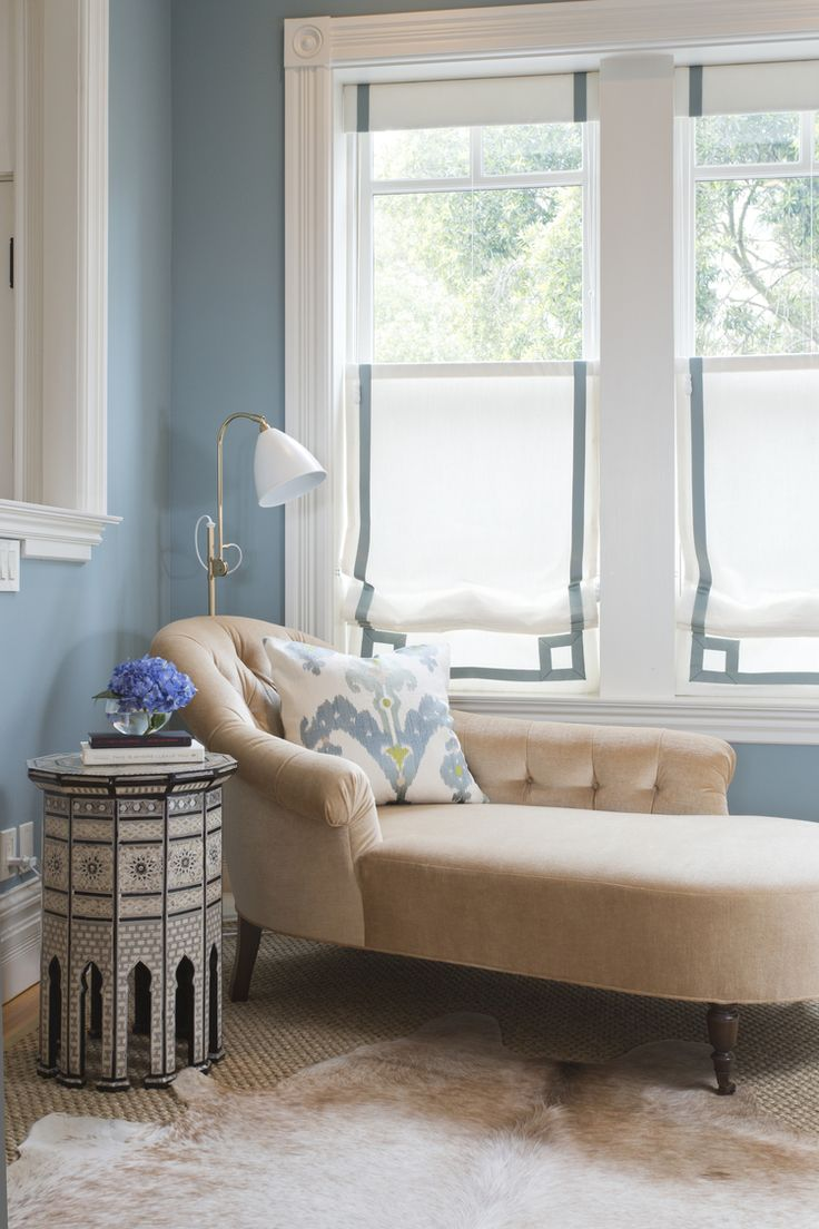 Pottery barn silk curtains - Blog Braun Adams Interesting The Way The Roman Shades Were Hung As