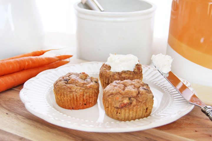 Carrot Cake Muffins To Be Cream Cheeses And Cheese