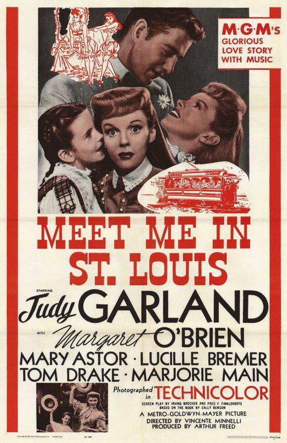 Meet Me in St. Louis 11x17 Movie Poster (1962)