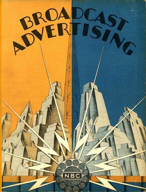 art deco brochure cover from 1929 deco art pinterest. Black Bedroom Furniture Sets. Home Design Ideas