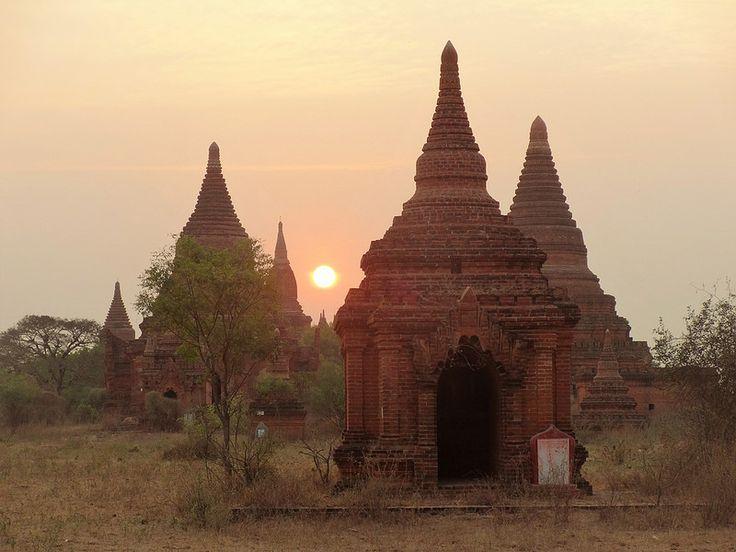 Old Bagan Birma - Celina Lisek