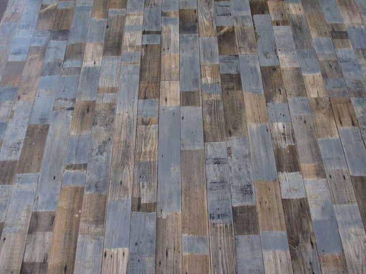 PVC (10€/m²) CV Bodenbelag Holz Optik Vintage Fashion 2 Meter breite Boden
