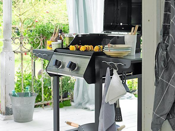 44 best SILVER GARDEN \ BALCONY images on Pinterest Aliner - outdoor küche edelstahl