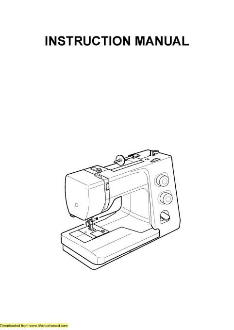 1227 best Sewing Machine Manuals images on Pinterest