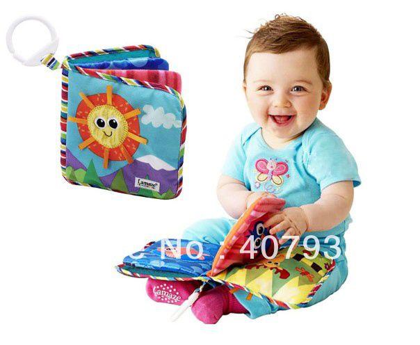 Lamaze sonne tuch buch spielzeug 1 stück 6.3*6.3''lamaze lamaze spielzeug musikalische puppe baby frühen entwicklung bücher s...