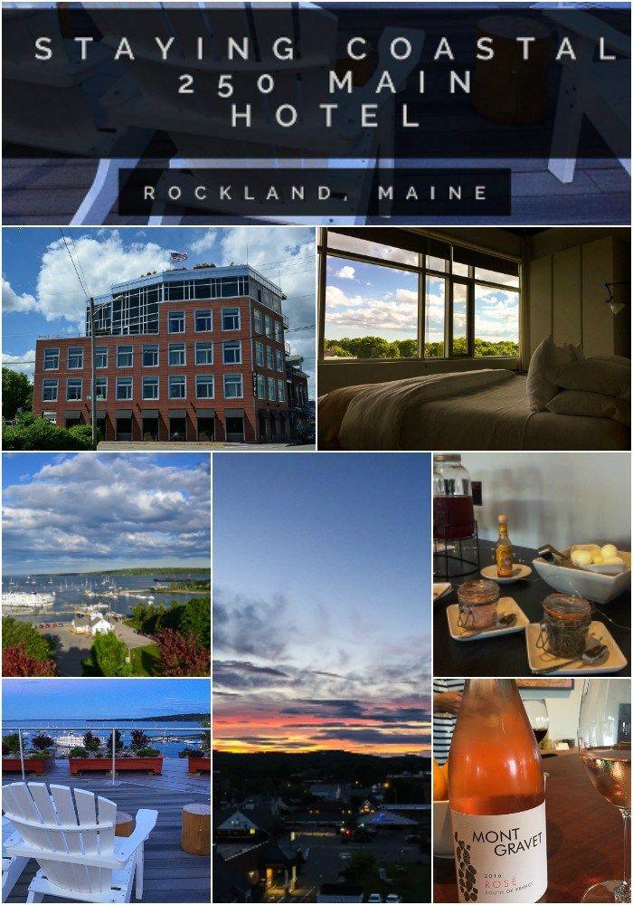 Maine | Rockland | Hotel | Coast | 250 Main Hotel | boutique Hotel Midcoast