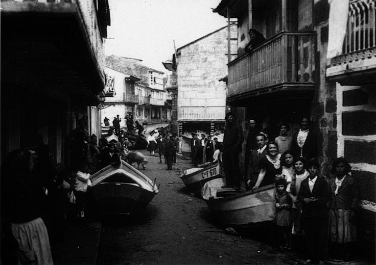 Maremoto, Muxía 1934