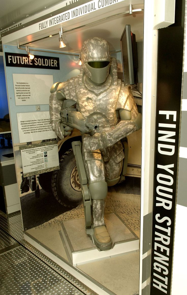 US Army powered armor - Powered exoskeleton - Wikipedia