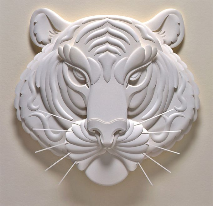 Paper sculpture - Grrrrrreate!: 3D Paper, Paper Art, Jeffnishinaka, Paper Sculpture, Paperart, Visual Art, Jeff Nishinaka, Art Pictures, Paper Crafts