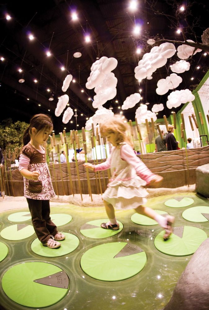 Please Touch Museum, Philadelphia PA.  Assisted in the development, fabrication and installation of several interactive exhibits that engaged light, sound and other types of playful interaction.  K S Fa...