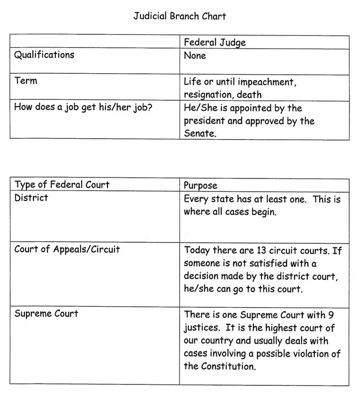 43 best images about American Government Judicial Branch on – Judicial Branch Worksheet