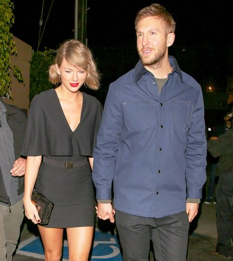 Taylor Swift and Calvin Harris were the cutest couple for recent date night -- see glam photos here!