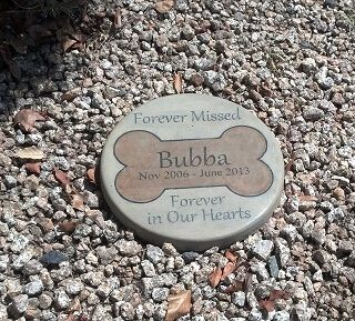Personalized Pet Grave Memorial Stone Small-Size Durable Resin...Check it at http://www.hellosausage.com/pet-grave-markers/