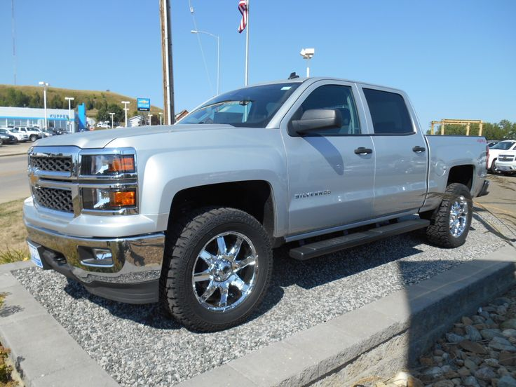 silver silverado lifted images - photo #17