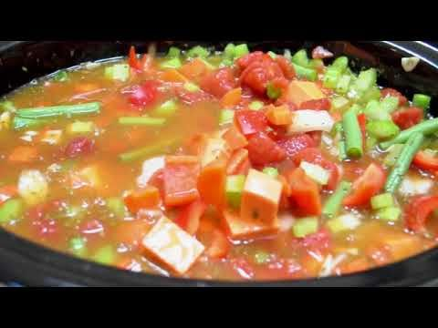 Quinoa Chunky Vegetable Soup - YouTube