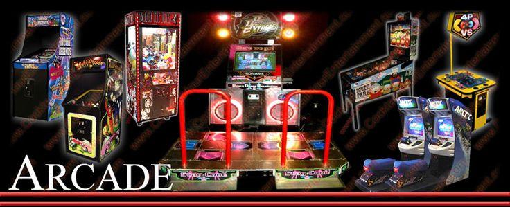 Florida Arcade Game Rentals Arcade games, Arcade, Bar