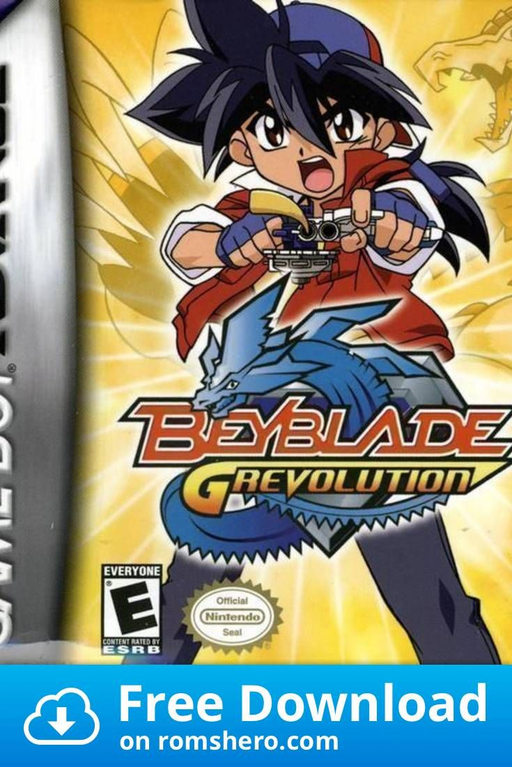 Download Beyblade G Revolution Gameboy Advance Gba Rom Gameboy Advance Gameboy Gba