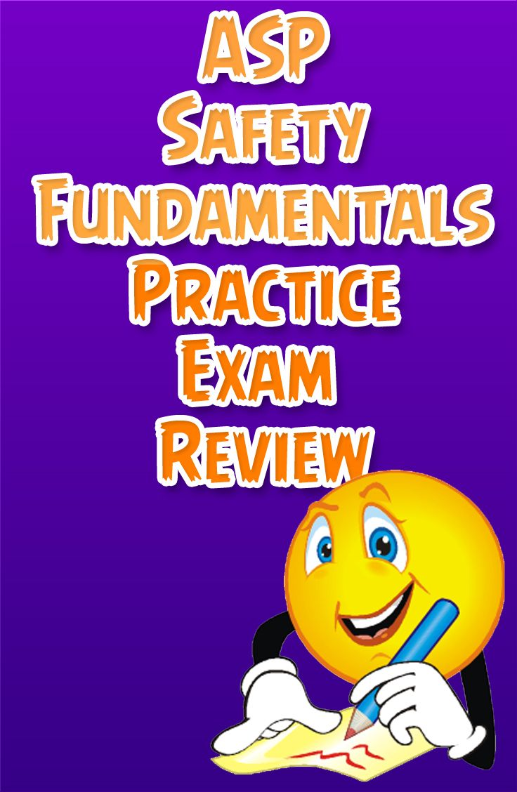 ASP Safety Fundamentals Exam Secrets Study Guide: ASP Test ...