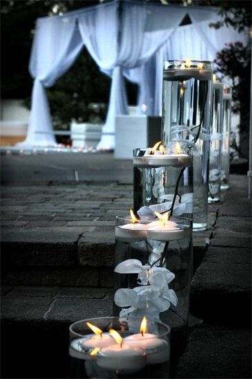 Outdoor Decor for All White Party