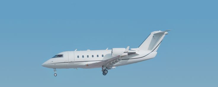 "The Bombardier Challenger 600 was originally designed as the LearStar 600 which was then sold to Canadair (now under Bombardier Aerospace), renamed, and underwent a few structural changes. It typically seats eight to twelve passengers, but can be configured for as many as 18.The cabin's design is wide and roomy, being one of the first produced with ""walk-around"" space. The aircraft has a fully enclosed lavatory and 115 cubic feet of luggage space."