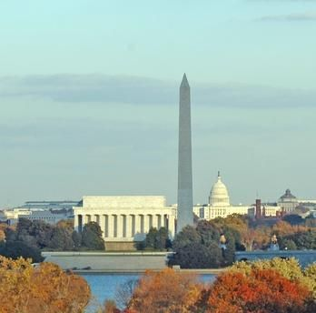Washington, D.C.: Mel and I celebrated our anniversary there in 2010. Spent a whole week and enjoyed it all!!