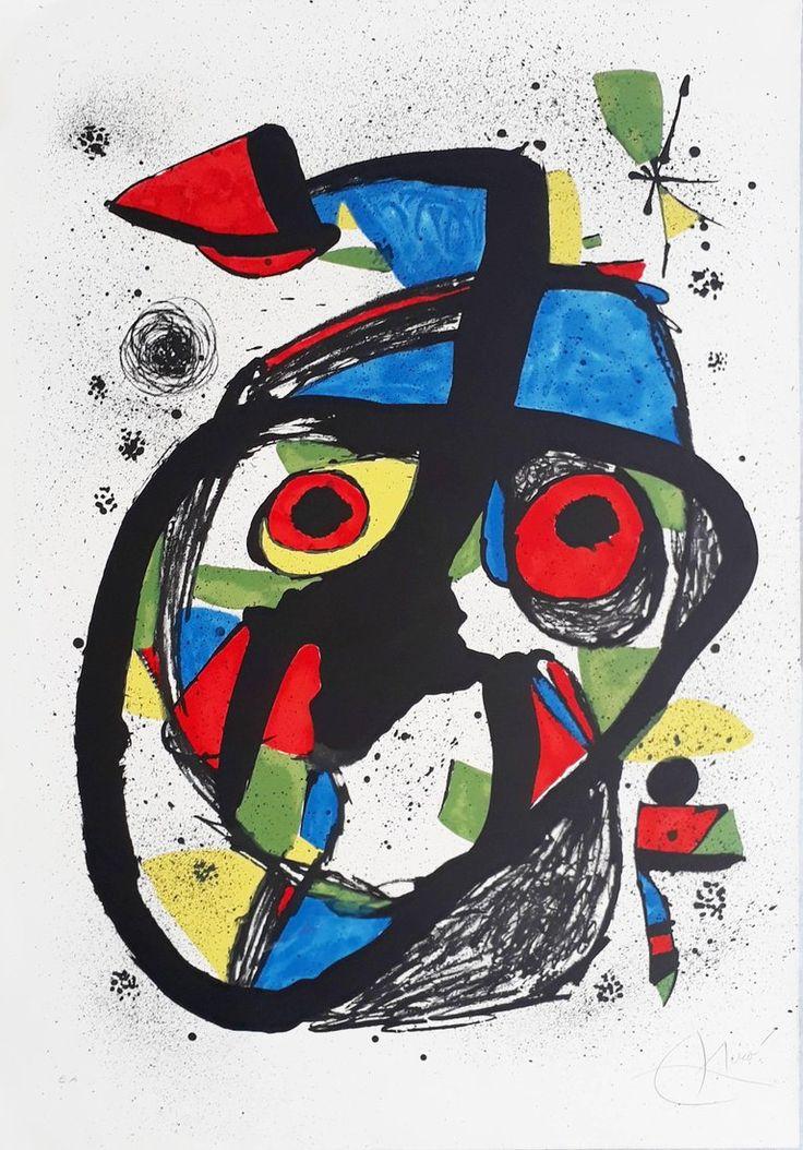 Carota | From a unique collection of mixed media at https://www.1stdibs.com/art/mixed-media/mixed-media/ Joan Miró Carota 1978  $8,000