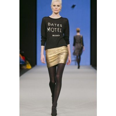 Mayla - Bates Silk Sweater Black - Kotyr.com