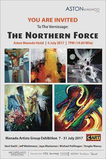 """Seni Rupa Sulawesi Utara: Pameran """"Northern Force"""" Manado Sulawesi Utara"""