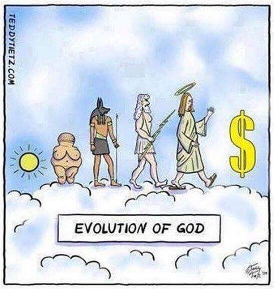 La evolución de dios
